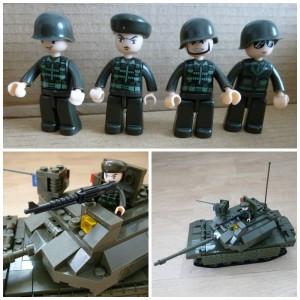 Sluban Army Tank M38-B6500 leger tank