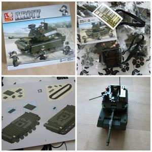 Slubam Army Tank M38-B6500 Leger tank