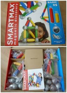 SmartMax Basic basisset Smart Games magneten recensie staven ballen bouwen