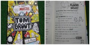 Tom Groot Is dat even mazzel (of niet) recensie graphic novel Liz Pichon gottmer tekeningen