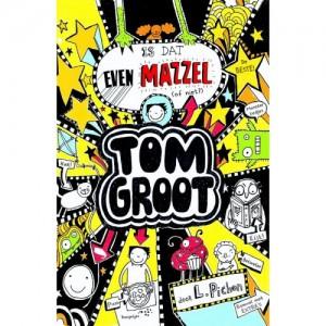 Tom Groot Is dat even mazzel (of niet?) recensie Liz Pichon graphic novel