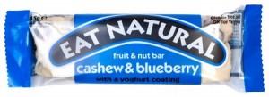 Eat Natural Fruit & Nut bar Cashew & Bleuberry