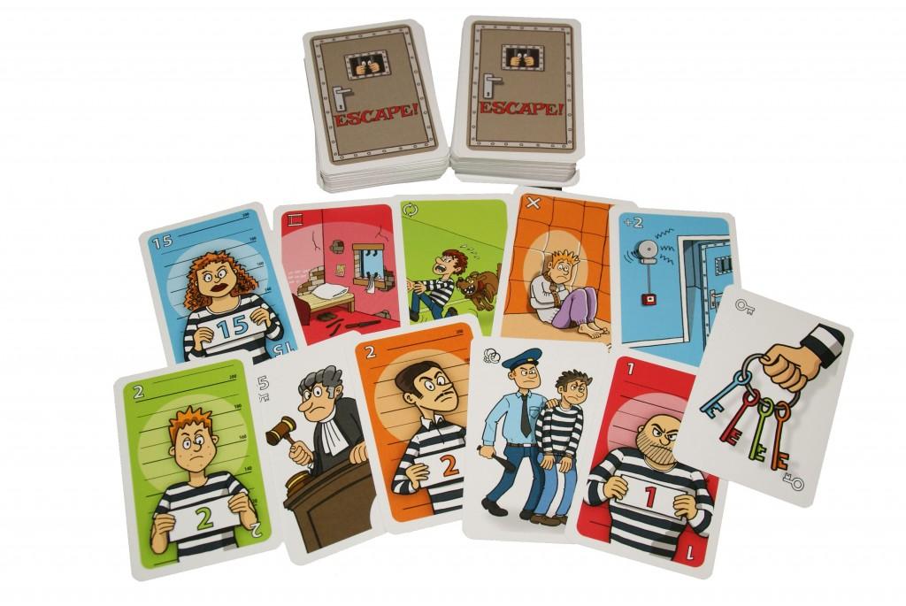 Escape! kaartspel Bloom Games pesten recensie gevangenismuseum veenhuizen gevangenpoort den haag bol.com