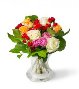 Greetz Rozenpracht standaard boeket rozen