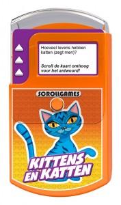 Kittens en Katten Scroll Games Nova Carta Quiz recensie spelletje