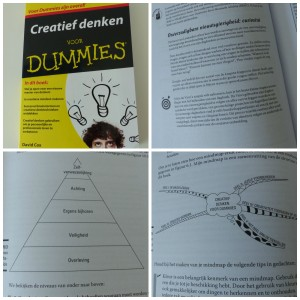 Creatief denken voor Dummies recensie BBNC mindmappen managment
