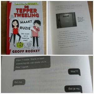 De Tepper Tweeling maakt ruzie geoff rodkey graphic novel recensie