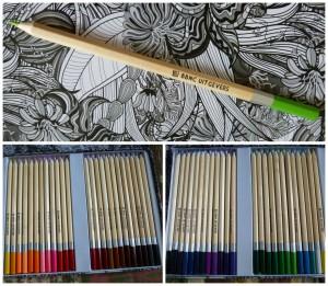 De enige echte enorme kleurdoos voor volwassenen 48 potloden  kleuren kleurboek BBNC recensie