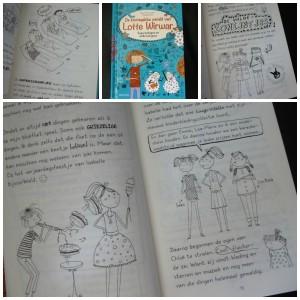 De knotsgekke wereld van Lotte Wirwar superschapen en wilde konijnen recensie graphic novel reeks Alice pantermuller deltas uitgeverij recensie