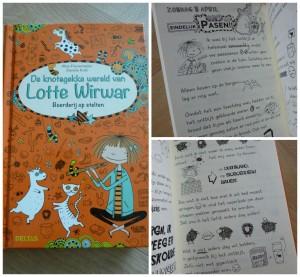 De knotsgekke wereld van Lotte Wirwar Boerderij op stelten graphic novel alice pantermuller deltas recensie