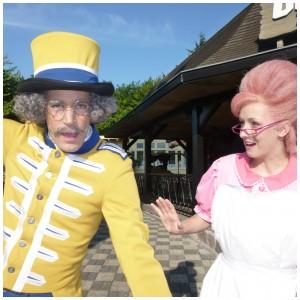 Meneer Kaasgaaf & Mevrouw Suikerspin openen de Julianatoren