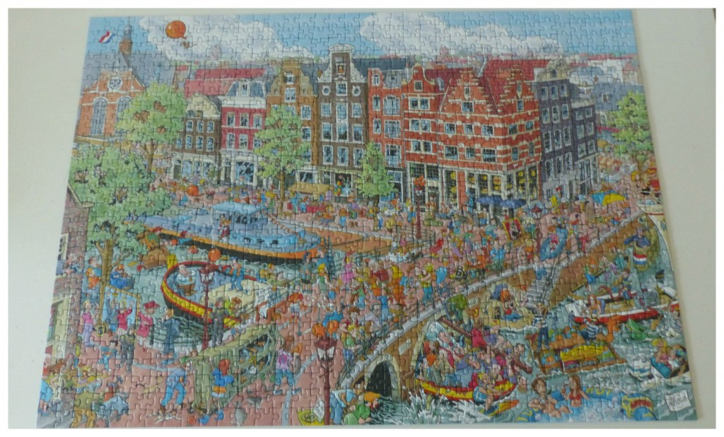 Ravensburger Cities of the world Amsterdam recensie willen alexander de dikke rode jeweetwel kater haaienvin jan van haasteren