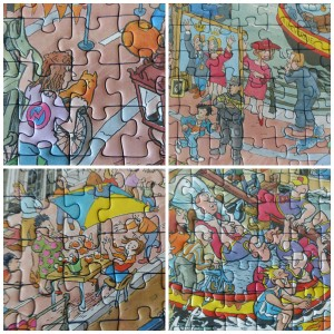 Ravensburger Cities of the world Amsterdam puzzel 1000 stukjes jan van haasteren softclick