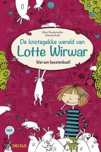 De knotsgekke wereld van Lotte Wirwar wat een beestenboel alice pantermuller recensie deltas graphic novel