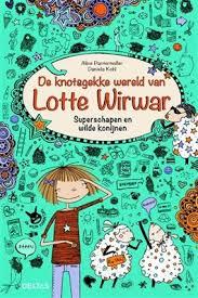 de knotsgekke wereld van lotte wirwar superschapen en wilde konijnen recensie graphic novel zelf lezen 9-12 jaar