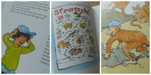 Apenbillen en Wiebeltanden recensie review dagmar stam vivian den hollander kinderboekenweek thema raar maar waar
