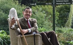 Mr. Bean Rowin Atkinsons boomerang TV 25 jaar Londen Buckingham Palace verjaardag