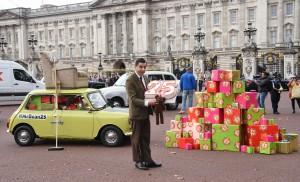 Mr. Bean Rowin Atkinson Boomerang TV 25 jaar animatieserie Buckingham Palace Londen