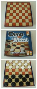 Drop vs Mint Damspel dammen recensie review nova carta snoepspel snoepen spelen