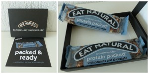 Eat Natural Proteine packed recensie review tussendoortje notenreep