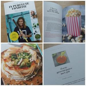 In perfecte conditie Ellen Hoog uitgeverij carrera recensie review sport bewegen recepten kookboek handboek