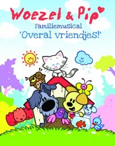 Woezel en Pip Overal Vriendjes Theater voorstelling Van Hoorne Junior Dromenjager Media Sinterklaas voorstelling
