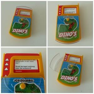 Dino Scrollgame nova carta recensie review quiz dinosaurussen spelen leren