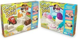 Super Sand Cupcakes Super Sand Farm Goliath Games recensie nieuw oktober speelzand
