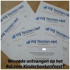 Winactie winnen Bol.com waardebon 10 euro Bol.com Kinderboekenweekfeest Gouden Ticket