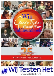 Winactie Goede Tijden Slechte Tijden Jubileumboek: 25 jaar GTST winnen BBNC recensie soapserie fans