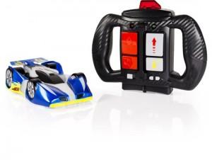 Air Hogs Zero Gravity Drive spin Master recensie review 8+ afstandbestuurbare auto racewwagen muur plafond