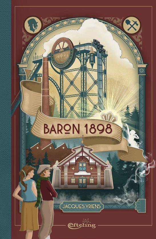 baron 1898 het boek bij de divecoaster van de efteling