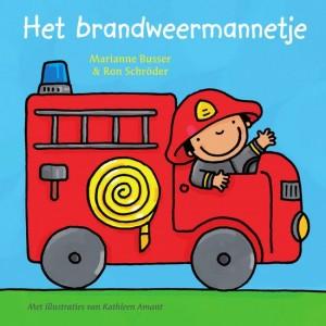 Het brandweermannetje Marianne Busser Ron Schroder Kathleen amant recensie review babyboekje peuterboekje kartonboekje brandweer