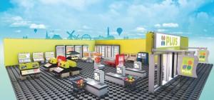 PLUSBRICKS supermarktactie boodschappen gratis PLUS supermarkt startpakket bouwstenen lego sparen