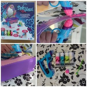 DohVinci Kaptafel speelklei hasbro Play-Doh recensie review creatief decoreren knutselen spiegel