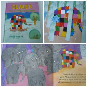 Elmer en de overstroming recensie review Van Goor David McKee prentenboek olifant kleurtjesolifant