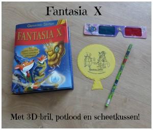 Fantasia X geronimo stilton avontuur spannend Florine da Fleur recensie review de wakkere muis geurpagina's kras-en-ruik toverinkt 3d plaatjes prenten gratis potlood 3D-bril scheetkussen