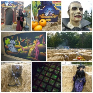 Halloween in Julianatoren recensie review oktober griezelen griezelig doolhof grot donker