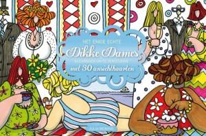 Het enige echte dikke dames kleurboek om te versturen Julia Woning ansichtkaarten gelegenheden BBNC uitgevers recensie review postkaarten kaartje versturen huwelijk baby geboorte kerst vakantie zomaar