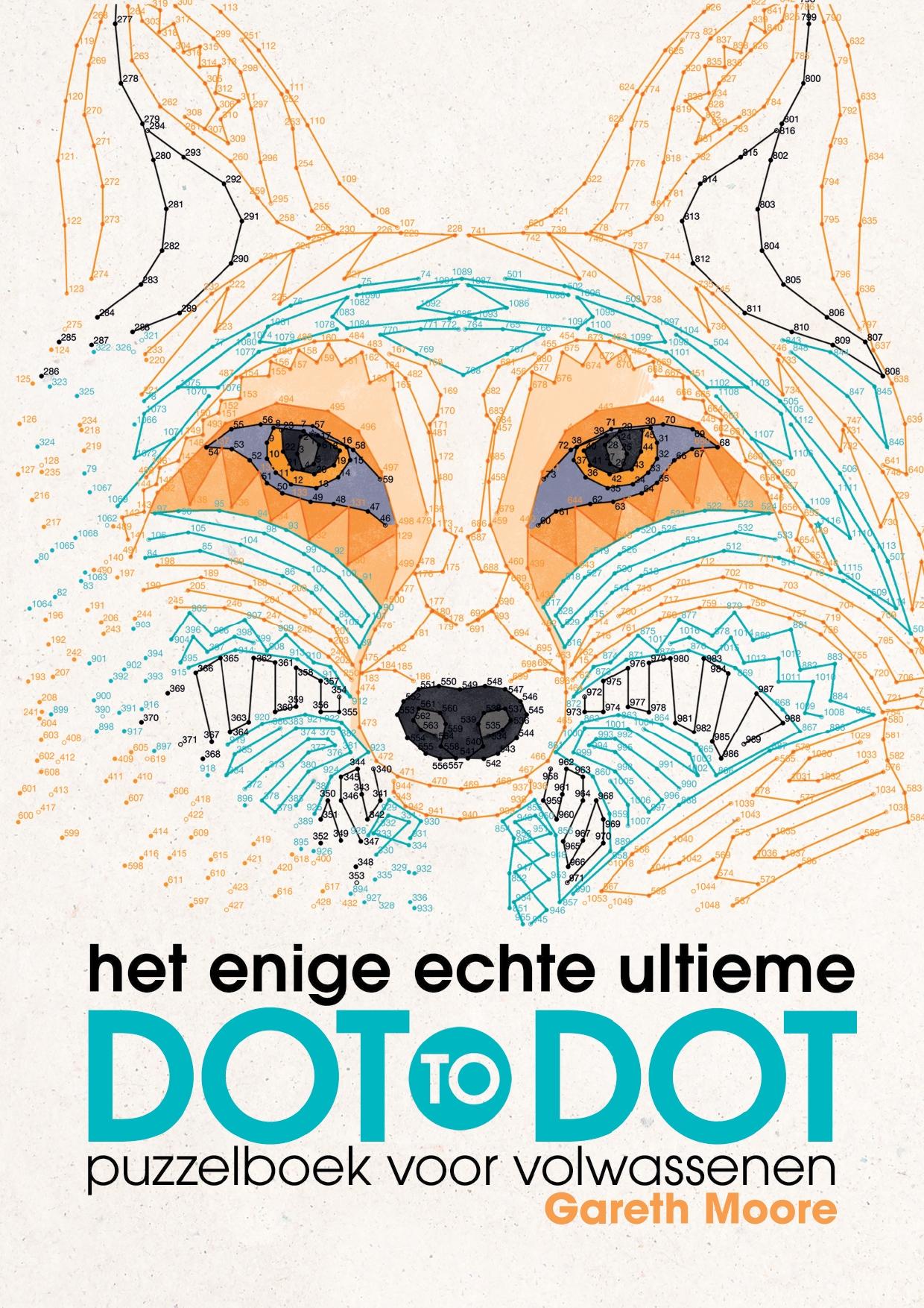 Het Enige Echte Ultieme Dot To Dot Puzzelboek Voor