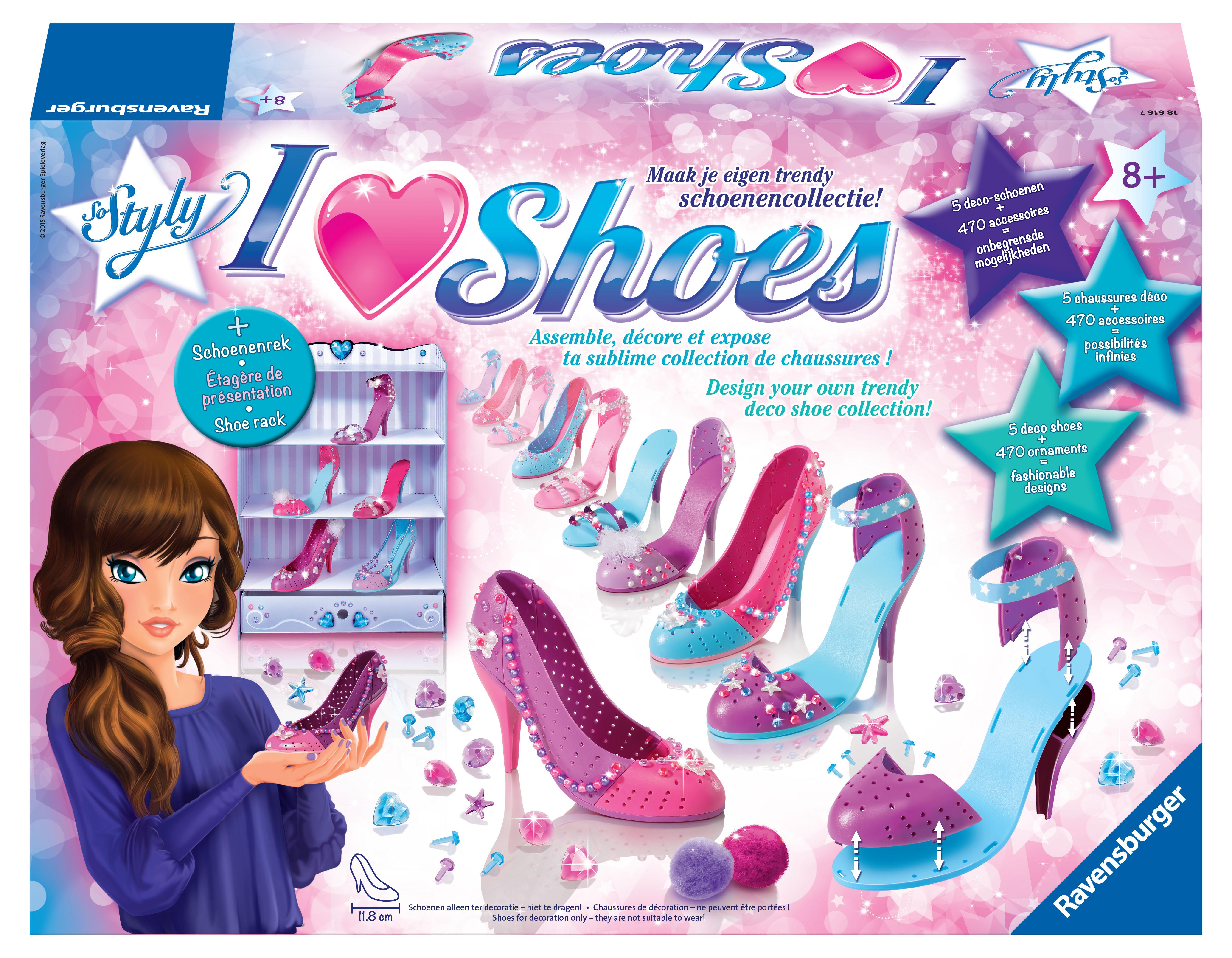 7c07c4f019efca I love shoes: de mooiste schoenen ontwerp je zelf! [recensie]