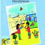 Heimwee Jamil & Jamila 2 Esther van der Ham \elsbeth de Jager Droomvallei uitgeverij vluchtelingen Syrië vluchtelingenkamp recensie review muziek school containers tekeningen kunstwerken