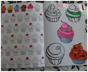 het enige echte kleurboek om samen in te kleuren recensie review kleurplaten jong oud volwassenen kinderen kleuren BBNC
