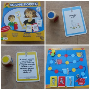 Knappe Koppen University Games recensie review bordspel peuters kleuters educatief