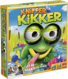 Knipper kikker spel goliath games recensie review speelgoed van het jaar 2015 nominatie knipperen ogen bril 6+