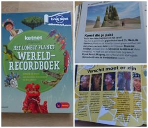 Ketnet preseneert: Het Lonely Planet Wereldrecord boek weetjes recensie review foto's cultuur biologie aardrijkskunde leerzaam educatief