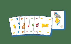 Muisgeflipt recensie review kaartspel gezelschapsspel familiespel kinderen reactiesnelheid muizen kledingstukken kazen