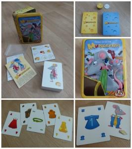 Muisgeflipt recensie review kaartspel familiespel kinderen muizen kazen snelheid reageren