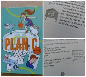 plan C simone arts recensie review uitgeverij holland pleeggezin pleegzorg pleegkind basketbal school