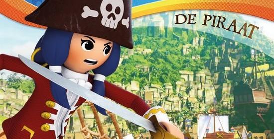 Playmobil super 4 De Piraat DVD recensie review Telekids Just4Kids afleveringen animatieserie playmobil ridder piraat fee agent meiden jongens
